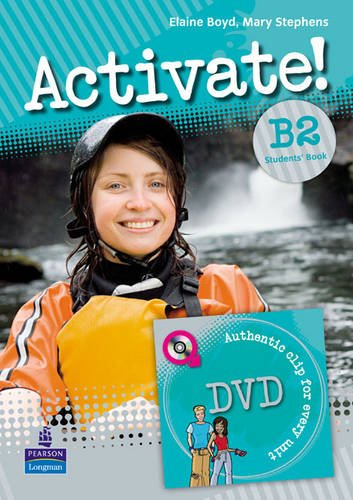 9781408236833: Activate! B2 Students Book/DVD Pack Version 2