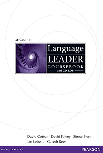 9781408236932: Language Leader Advanced Coursebook and CD Rom Pack