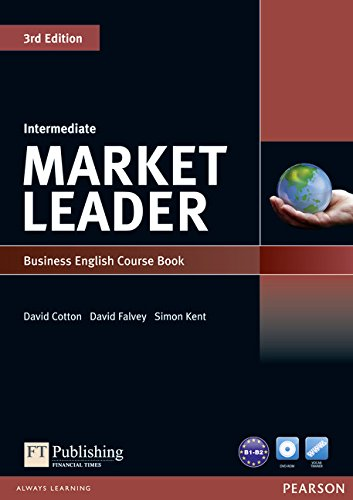 Market Leader Intermediate Coursebook and DVD-Rom Pack: Cotton, David; COTTON