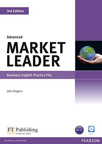 9781408237045: Advanced Market Leader: Business English Practice File (Book & CD)