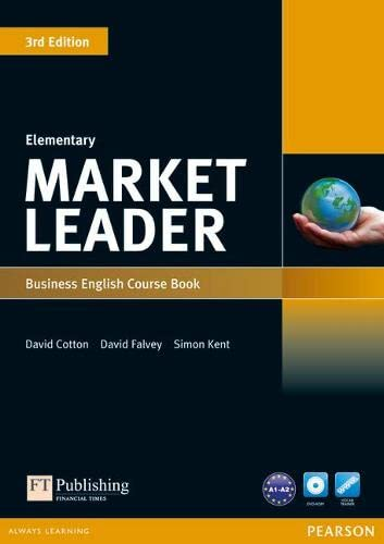 9781408237052: Market Leader 3rd Edition Elementary Coursebook & DVD-ROM Pack