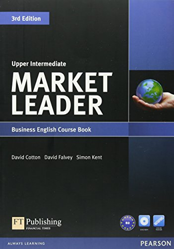 9781408237090: Market Leader 3rd Edition Upper Intermediate Coursebook & DVD-Rom Pack