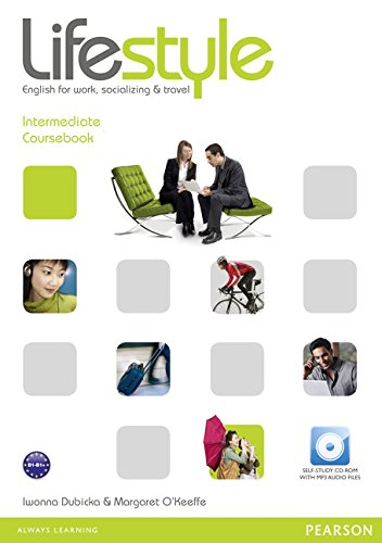 9781408237144: Lifestyle Intermediate Coursebook and CD-Rom Pack