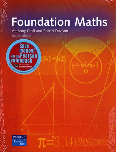 9781408237380: Foundation Maths: with MyMathLab 12 months access to resources card