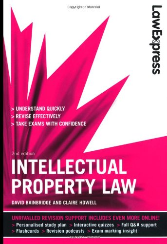 9781408237861: Law Express: Intellectual Property Law (Revision Guide)