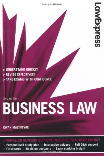 9781408237977: Law Express: Business Law (Revision Guide)