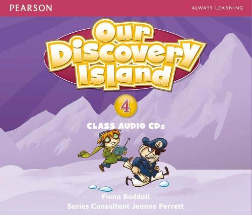 9781408238806: Our Discovery Island Level 4 Audio CD