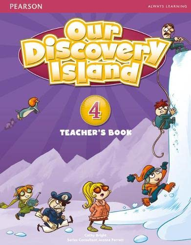 9781408238868: Our Discovery Island Level 4 Teacher's Book Plus Pin Code