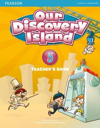9781408238967: Our Discovery Island Level 5 Teacher's Book plus pin code