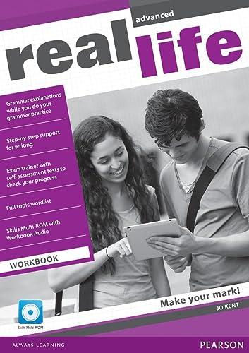 9781408239445: Real Life Global Advanced Workbook & Multi-ROM Pack