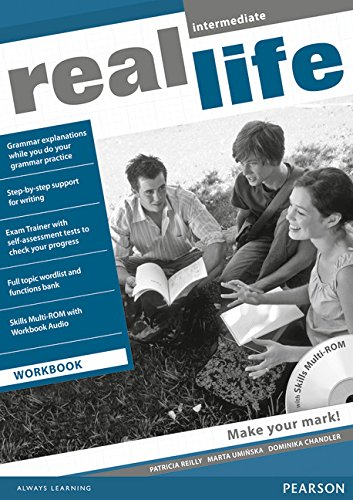 9781408239469: Real Life Global Intermediate Workbook & Multi-ROM Pack