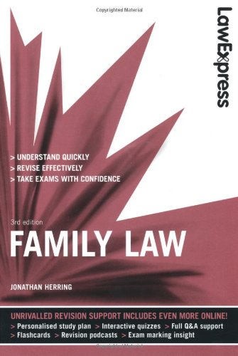9781408239773: Law Express: Family Law (Revision Guide)