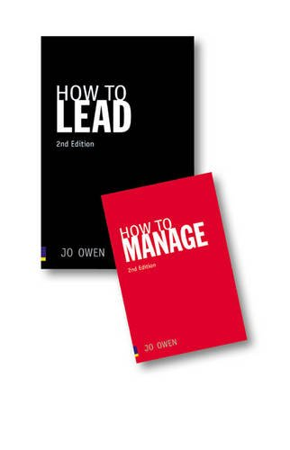 Value Pack: How to Lead/How to Manage pk (1408240092) by Jo Owen