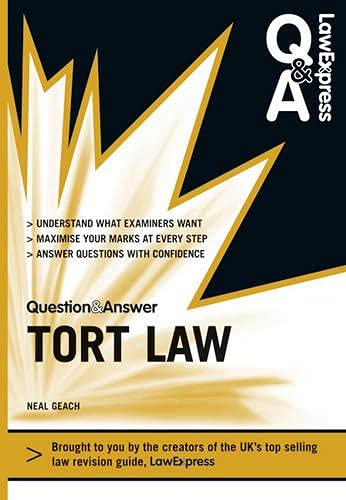 9781408241158: Tort Law. by Neal Geach (Law Express Questions & Answers)