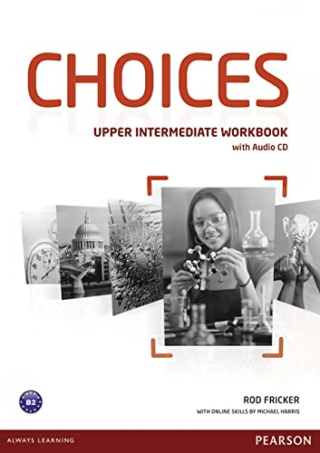 9781408242179: Choices Upper Intermediate Workbook for pack