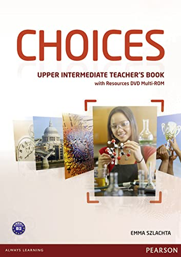 9781408242223: Choices Upper Intermediate Teacher's Book for pack