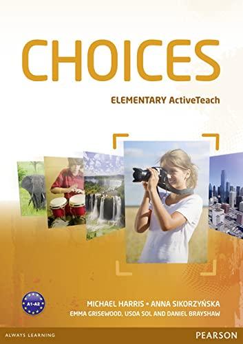 9781408242292: Choices Elementary Active Teach