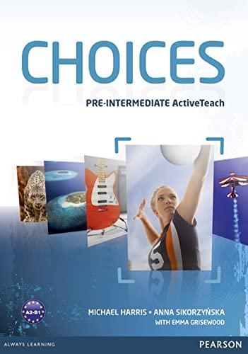 9781408242315: Choices Pre-Intermediate Active Teach