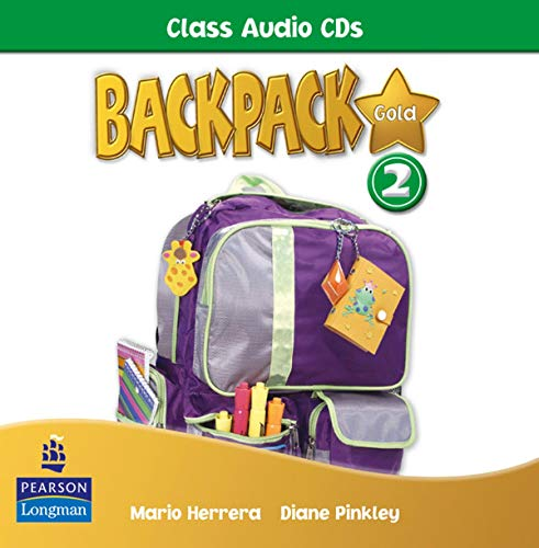 9781408243169: Backpack Gold 2 Class Audio CD New Edition