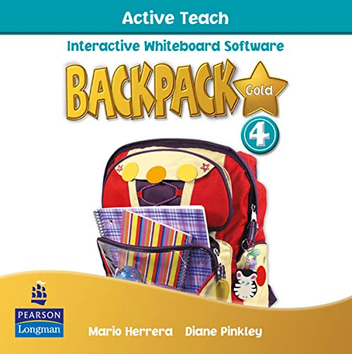 9781408243343: Backpack Gold 4 Active Teach New Edition