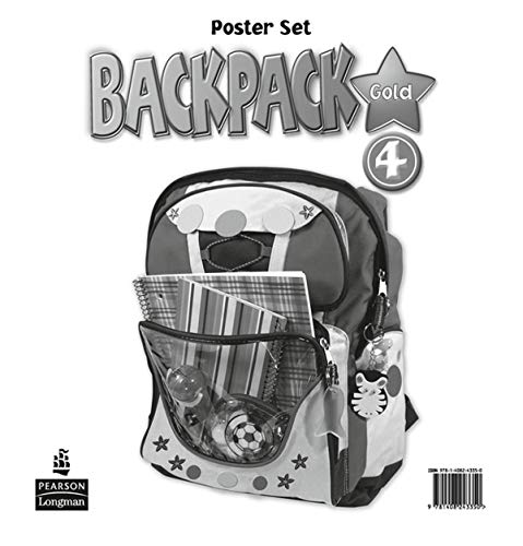 9781408243350: Backpack Gold 4 Posters New Edition