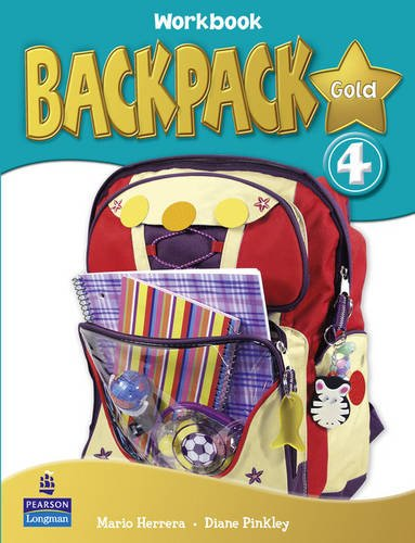 9781408243381: Backpack Gold 4 Workbook New Edition for Pack
