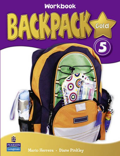 9781408243466: Backpack Gold 5 Workbook New Edition for Pack