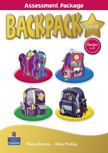 9781408243749: Backpack Gold Starter to Level 3 Assessment Package Book New Edition for Pack