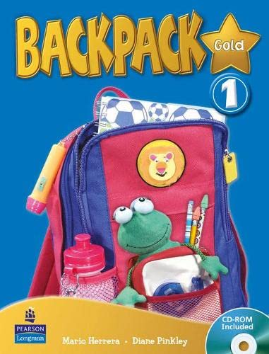 9781408244982: Backpack Gold 1 Students Book and CD Rom N/E Pack