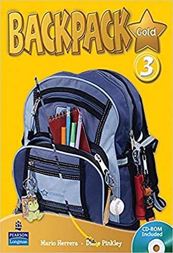 9781408245057: Backpack Gold 3 SBk & CD ROM N/E Pk