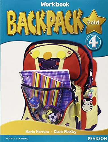 9781408245088: Backpack Gold 4 WBk & CD N/E pack