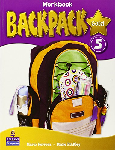 9781408245101: Backpack Gold 5 Workbook with CD