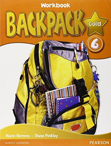 9781408245125: Backpack Gold 6 Workbook with CD