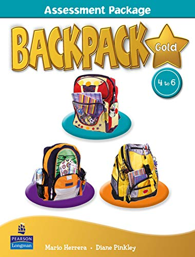 9781408246283: Backpack Gold Assessment Book & M-Rom 4-6 N/E pack