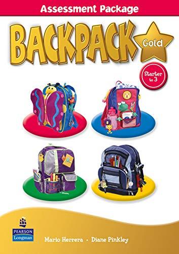 9781408246290: Backpack Gold Assessment Pack Book & M-Rom Str - 3 N/E pack