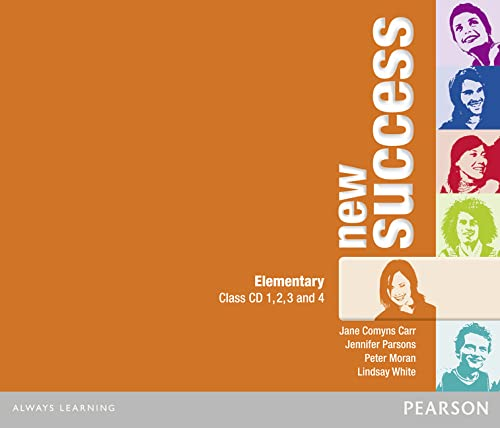 9781408249024: New success. Elementary. Per le Scuole superiori. Audiolibro. CD Audio