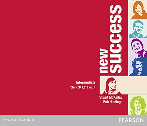 9781408249154: New success. Intermediate. Per le Scuole superiori. Audiolibro. CD Audio