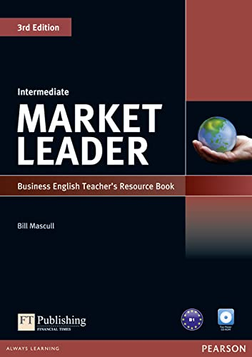 9781408249499: Market Leader 3rd Edition Intermediate Teacher's Resource Book/Test Master CD-ROM Pack