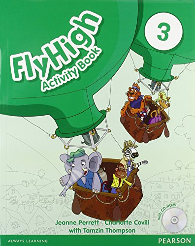 9781408249758: Fly High Level 3 Activity Book and CD ROM Pack