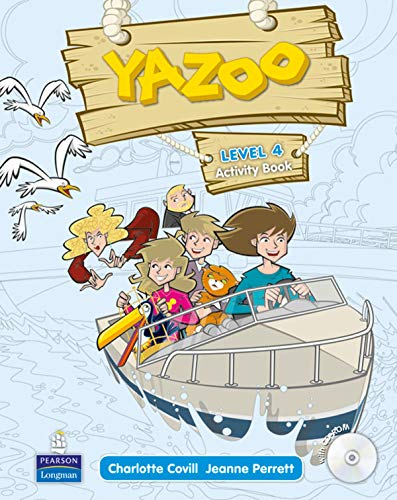 9781408249857: Yazoo Global Level 4 Activity Book and CD ROM Pack