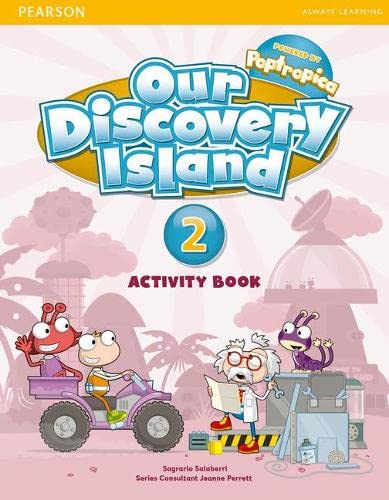 9781408251270: Our Discovery Island Level 2 Activity Book (Pupil) Pack [With CDROM]