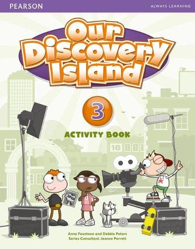 9781408251287: Our Discovery Island Level 3 Activity Book (Pupil) Pack [With CDROM]