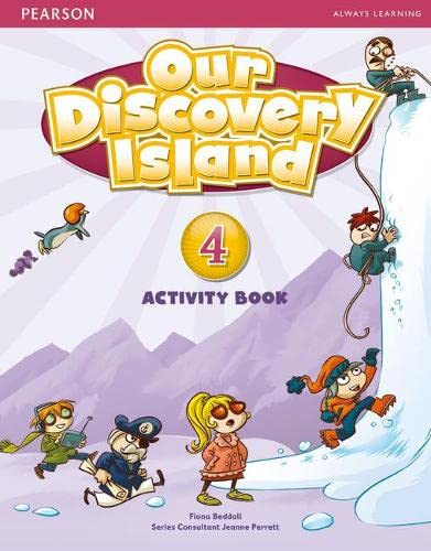 9781408251294: Our Discovery Island Level 4 Activity Book (Pupil) Pack [With CDROM]