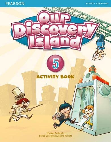 9781408251317: Our Discovery Island Level 5 Activity Book and CD ROM (Pupil) Pack