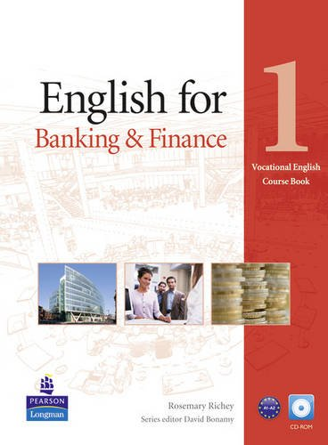 9781408251935: English for Banking & Finance Level 1 Coursebook for Pack (Vocational English)