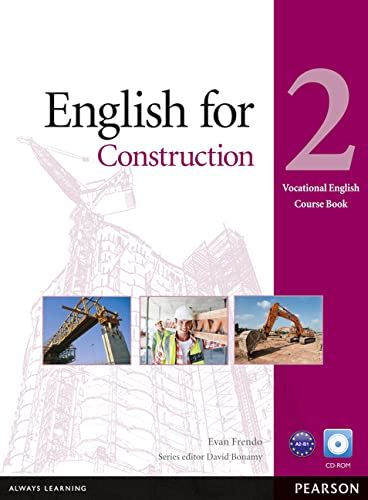 9781408252086: English for Construction Level 2 Coursebook for Pack (Vocational English)