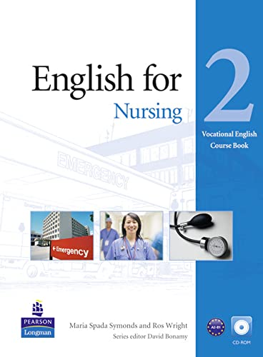 9781408252116: English for Nursing Level 2 Coursebook for Pack