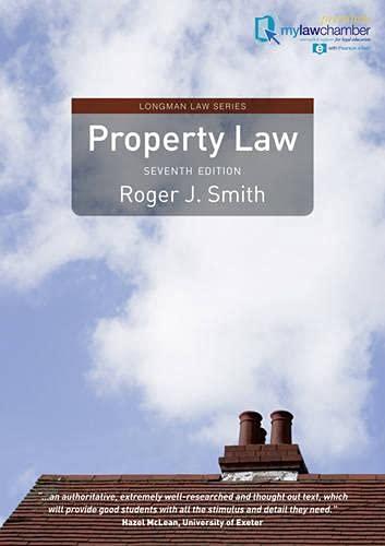 9781408252611: Property Law (Longman Law Series)