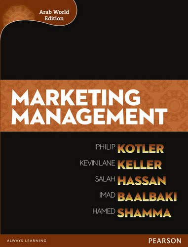 9781408252734: Marketing Management (Arab World Edition)