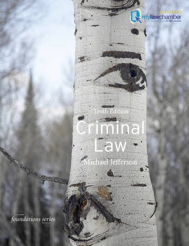 9781408253489: Criminal Law (Foundation Studies in Law Series)